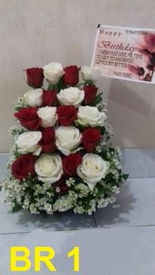 bunga ultah , anniversary ,